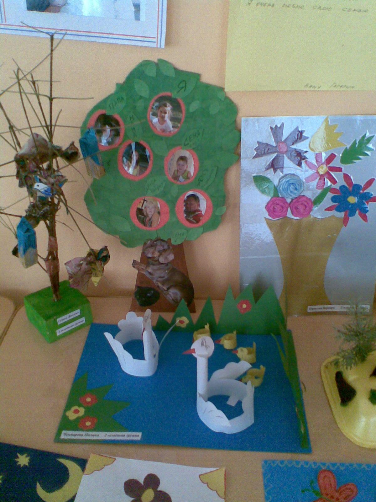 Как сделать дерево для детского сада своими руками